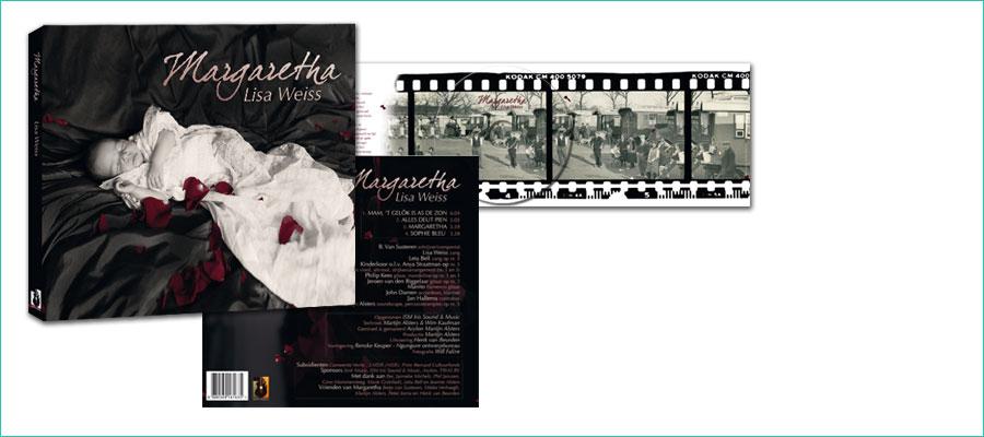 <p>Digipack cd-ontwerp, 3-luik.</p> <p>In opdracht van Sinti Music voor werkgroep 'Margharetha'.</p> <p>Voor meer informatie:<br /><a title=