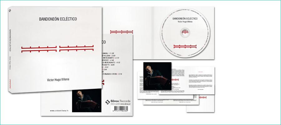 <p></p> <p>Digipack cd-ontwerp, 2-luik, met 8-pagina booklet</p> <p>In opdracht van de Silvox Studio.</p>