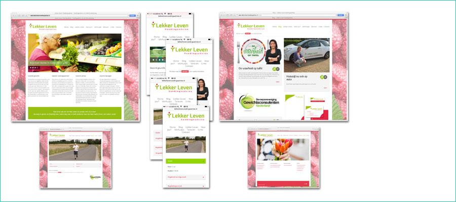 <p><br />Website-ontwerp op basis van WordPress CMS.</p> <p> Responsive Template omgebouwd tot geheel eigen uitstraling van Lekker Leven Voedingsadvies  </p> <p> </p>